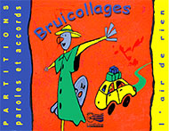 "Bruicollages - Livre ""Partitions"""