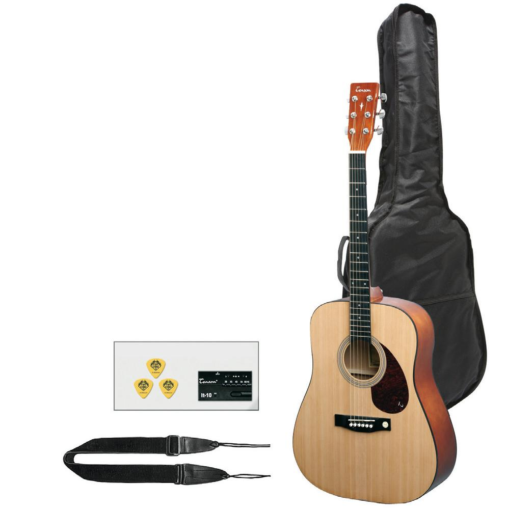 instruments guitare folk pack complet. Black Bedroom Furniture Sets. Home Design Ideas