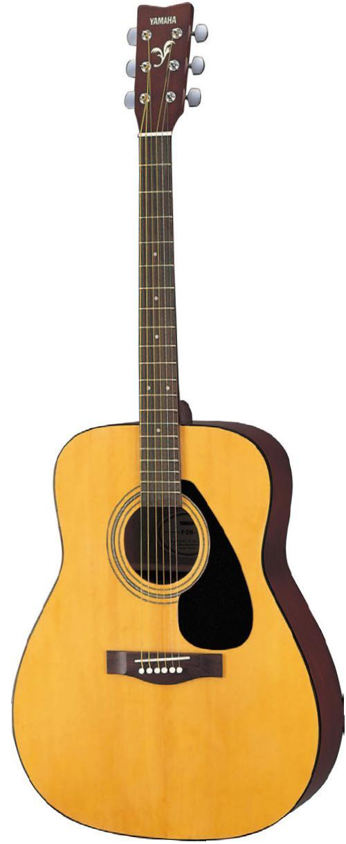 guitares western guitare folk pack yamaha f310. Black Bedroom Furniture Sets. Home Design Ideas