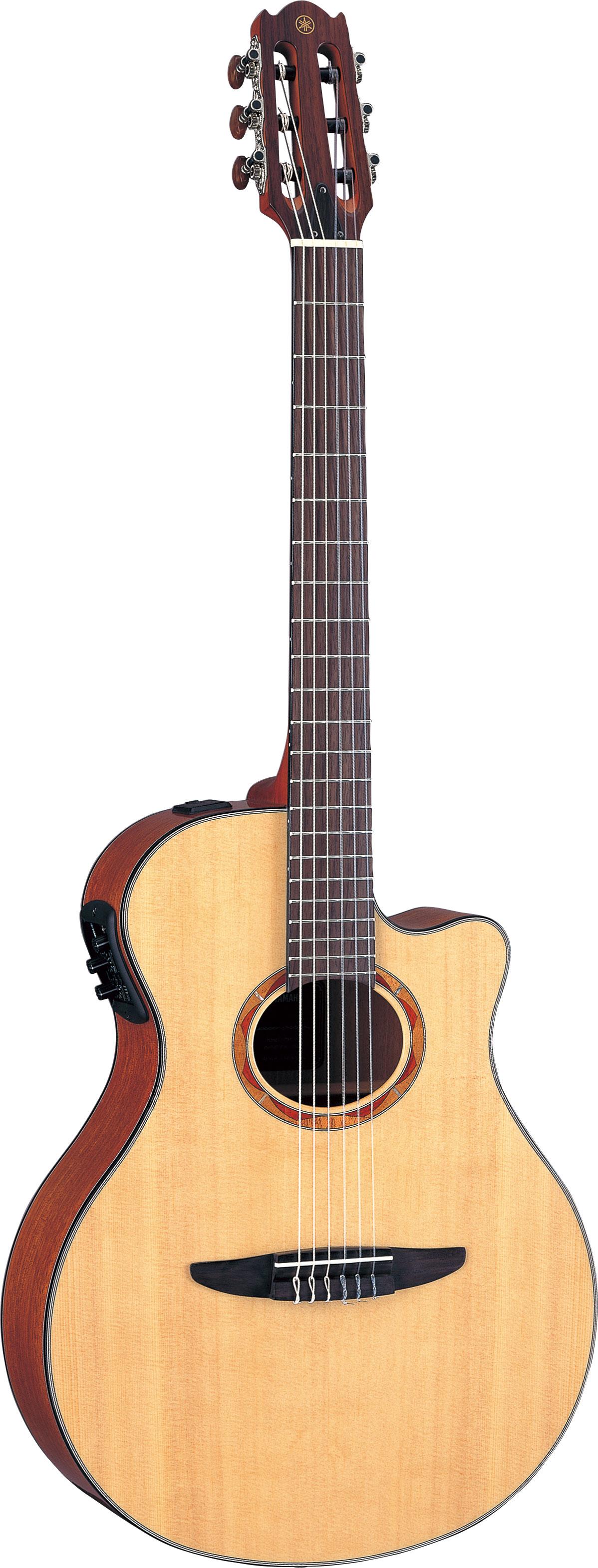 Guitares Western : Guitare électro acoustique nylon Yamaha ...
