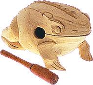 Guiro grenouille grand modèle