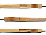 Guimbardes en bambou : le jeu de 3 dans un étui en bambou