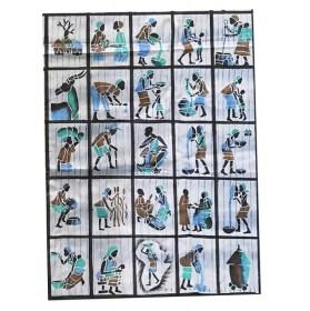 25 Batiks à découper