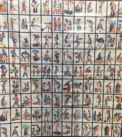 50 Batiks à découper