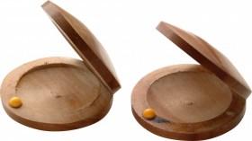 Castagnette à doigts en bois l'unité