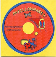 "Papillonnages - CD ""Play-back"""