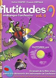 Flutitudes 4  - livre + CD