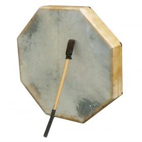 Tambour sur cadre octogonal