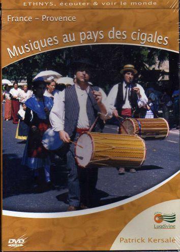 DVD Musiques au pays des cigales