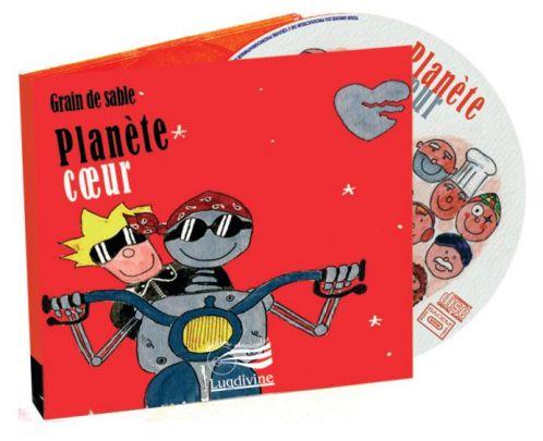 Planète coeur CD