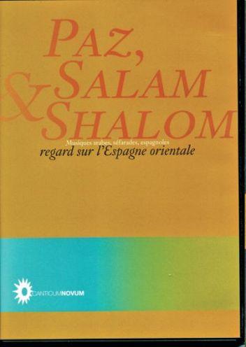 DVD Paz, Salam & Shalom