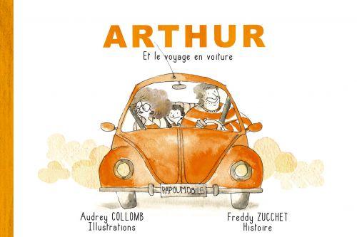 Arthur et le voyage en voiture - Livre / CD