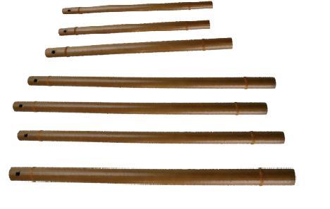 Flûte harmonique en bambou DO aigu