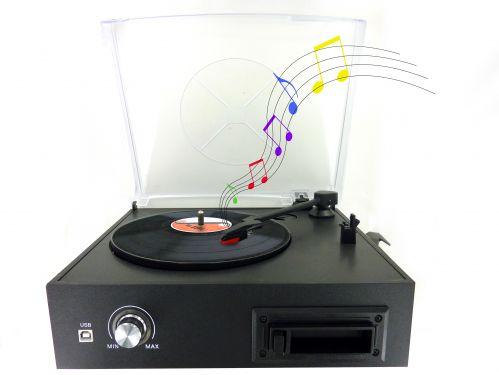 Convertisseur vinyl et cassette
